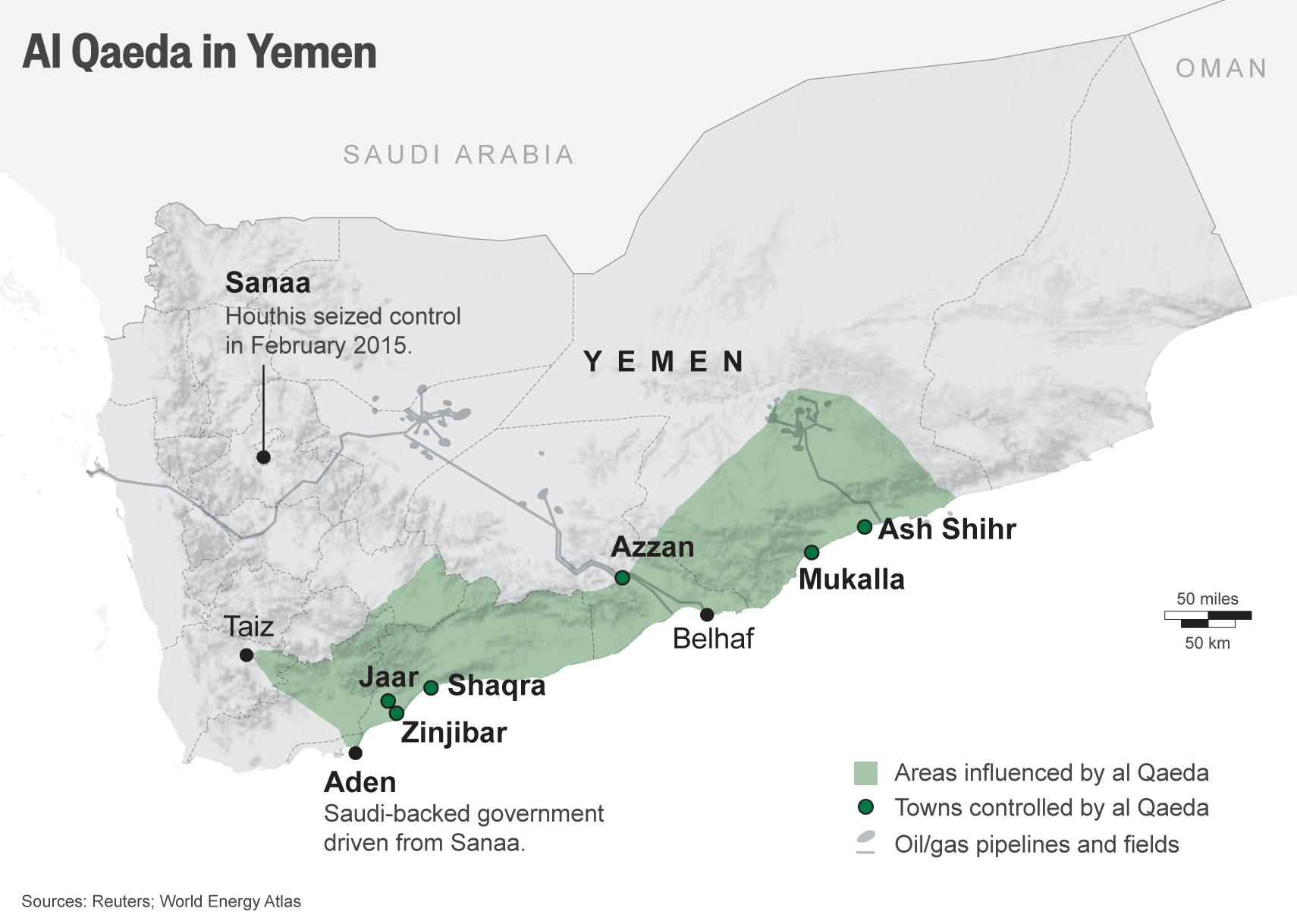 Saudi War On Yemen Makes AlQaeda Stronger And Richer AlThawra Net - Yemen map png