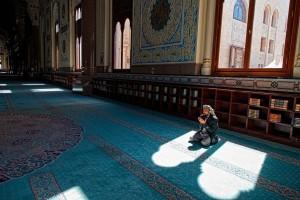 The Al-Saleh Mosque in Sana'a.